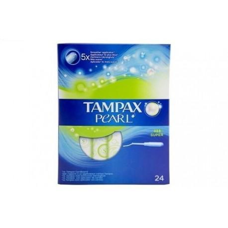 Tampax Pearl Super Tampons 24 Units