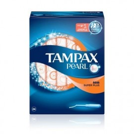 Tampones Tampax Pearl Super Plus 24 Unidades