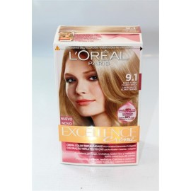 Hair dye Excellence 9.1 Blonde Light Light ashes
