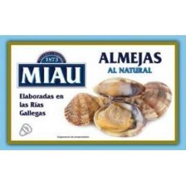 Almejas Miau Natural 115 Grs