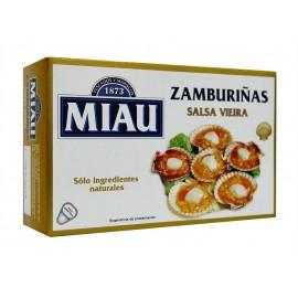 Zamburiñas Miau Salsa Viera 115 Grs