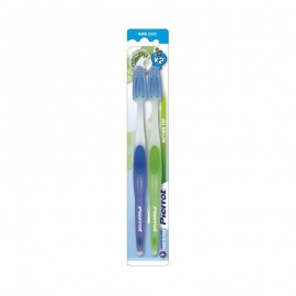 Pierrot Gold Medium Toothbrush Pk-2