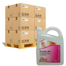 Gel Hidroalcoholico Garrafa 5 Litros GLOW 132 unidades por palet
