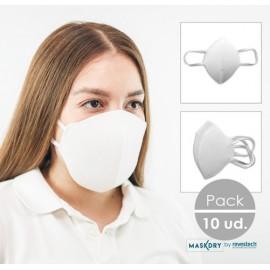 Mascarillas niños higiénicas lavables contra COVID-19 1500 unidades