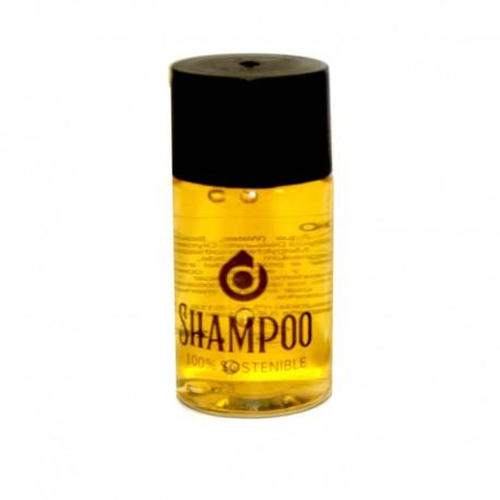 Champu Doci Botella 20 Ml Pvc Reciclado 100% Sostenible EMICELA 225 unidades/caja
