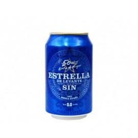Estrella Levante Cerveza Sin Alcohol Lata 330ml pack 8
