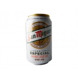 San Miguel Cerveza Especial Lata 330ml pack 8