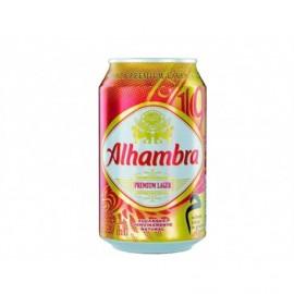 Alhambra Cerveza Lata 330ml pack 8