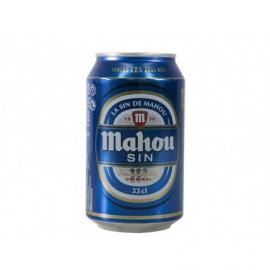 Mahou Cerveza Sin Alcohol Lata 330ml pack 8