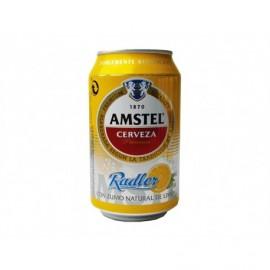 Amstel Cerveza Radler Lata 375ml pack 8