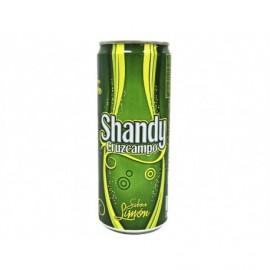 Cruzcampo Bière au citron Shandy Canette 330 ml