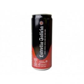 Estrella Galicia Cerveza Lata 330ml pack 8