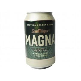 San Miguel Cerveza Magna Lata 330ml pack 8