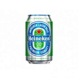 Heineken Bier 0,0% 330 ml können