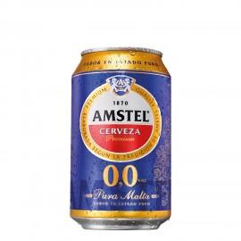 Cerveza Amstel 0,0 Alcohol 33 Cl pack 8