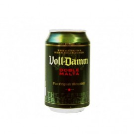 Voll-Damm Cerveza Doble Malta Lata 330ml