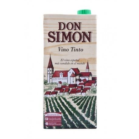 Don Simón Vino Tinto de Mesa Brik 1l