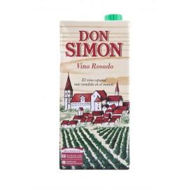 Don Simón Vino Rosado de Mesa Brik 1l