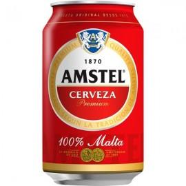 Cerveza Amstel 33 Cl Ml pack 8