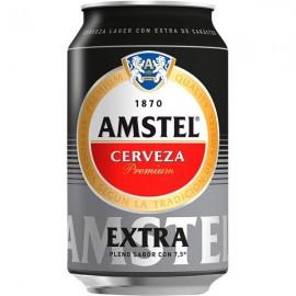 Cerveza Amstel Extra 33 Cl pack 8