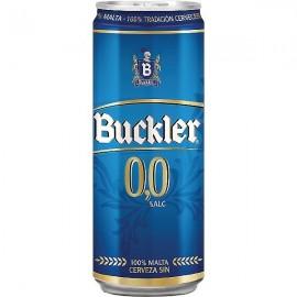 Cerveza Buckler 0% 33 Cl pack 8