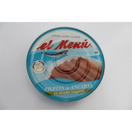 Anchoas El Menu Pdta. 550 Grs