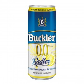Cerveza Buckler 0,0% Radler 33 Cl pack 8