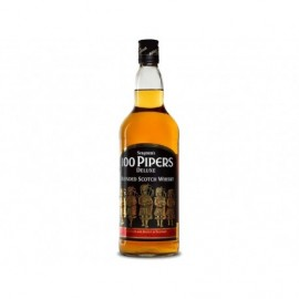 Seagram's Whisky Escocés 100 Pipers Botella 700ml