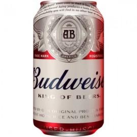 Cerveza Budweiser 33 Cl pack 8