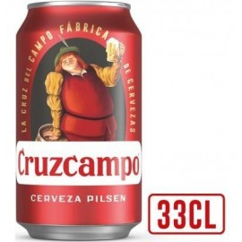 Beer Cruzcampo 33 Cl pack 8