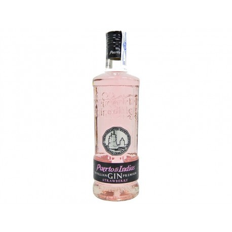 Puerto de Indias Ginebra Strawberry Botella 700ml