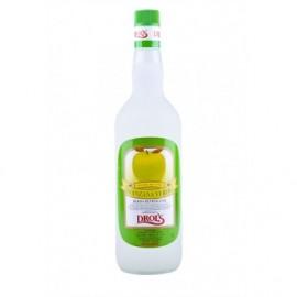 Drol's Licor de Manzana Verde Sin Alcohol Botella 1l