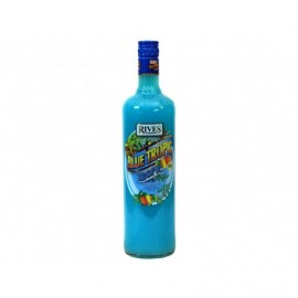 Rives Licor Blue Tropic Botella 1L