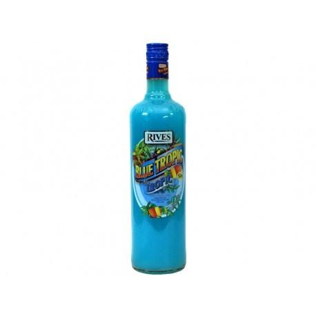 Rives Licor Blue Tropic Botella 1L