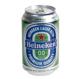 Cerveza Heineken 0% 33 Cl pack 8