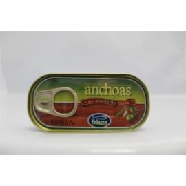 Anchoas Pelaza Aceite oliva 125 Grs