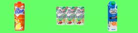 Fruit and milk juice